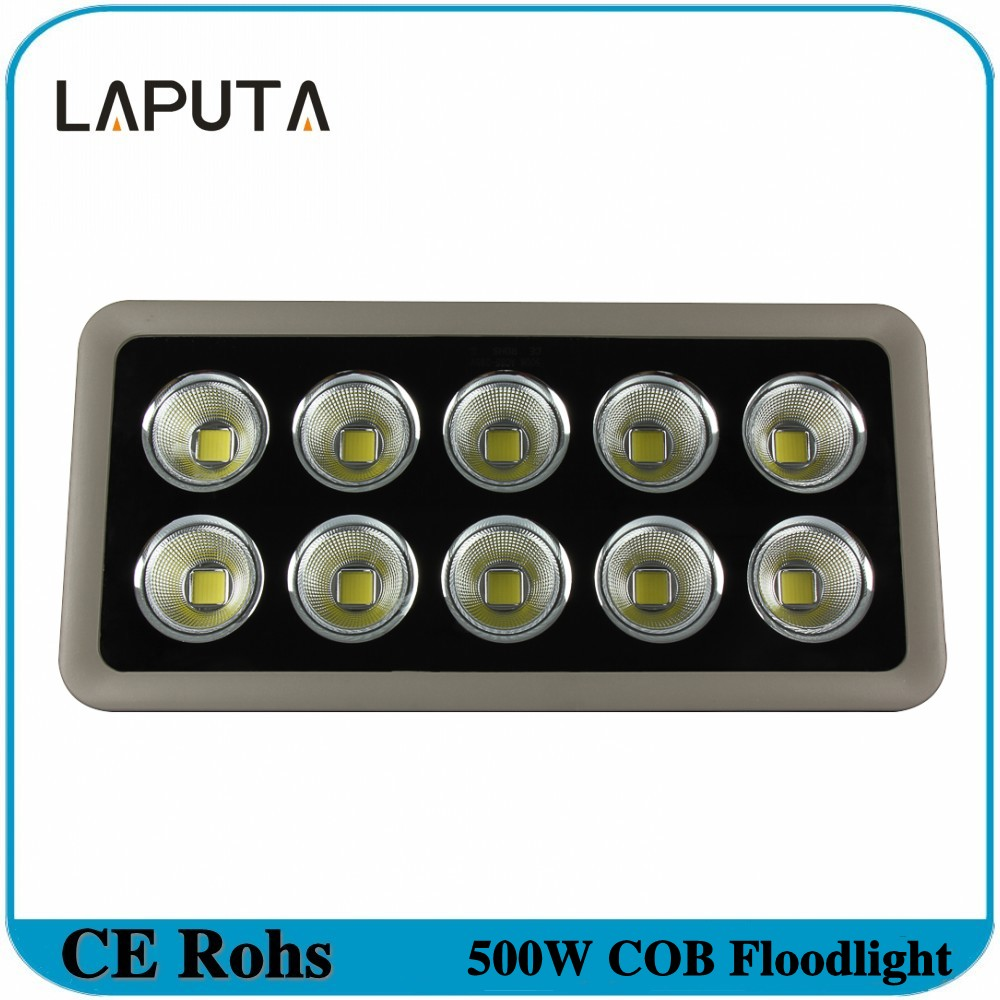 1pcs High Power Led Reflector 500W COB Floodlight Led Spotlight Outdoor Lighting Waterproof IP65 Landscape Led