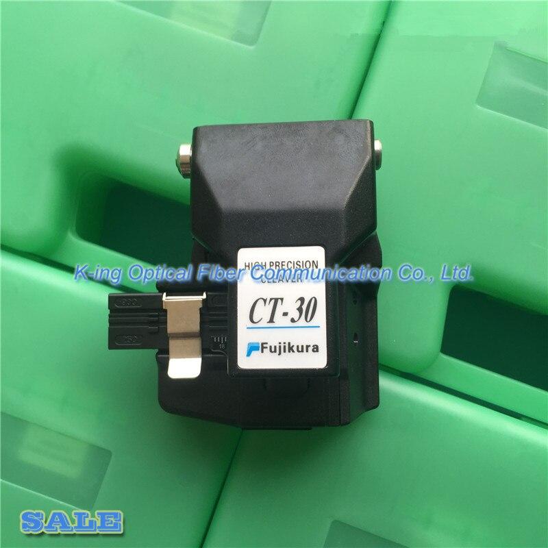 Made in china Fujikura Fiber cleaver CT 30 High Precision Cleaver with case Optical fiber cutting