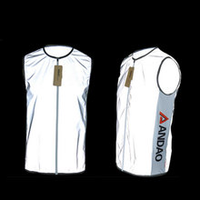 2016 Outdoor Sports Reflective Clothing Men Woman Sportswear Waistcoat Vest Safety Bicycle Cycling Jersey Reflective Vests Gilet
