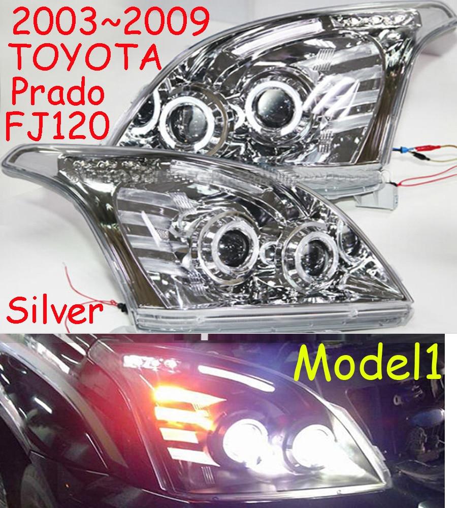 Prado headlight,Cruiser,LC120/FJ150 2700,4000,2003~2009/2014~2016,Free ship! Prado fog light,2ps+2pcs Ballast,Prado driver light