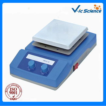 TWCL-B 140x140mm Temperature adjustable magnetic stirring laboratory hot plate