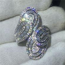 Двойное ювелирное изделие в форме листвы кольцо из стерлингового