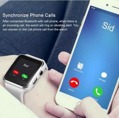 חדש X6 חכם שעון עם מצלמה מסך מגע תמיכת SIM TF כרטיס Bluetooth גברים Smartwatch עבור iPhone Xiaomi אנדרואיד טלפון