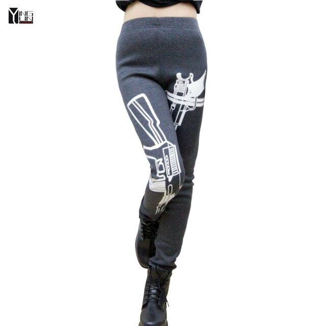 2015 mujeres de la manera pantalones casuales Pantalones Sueltos Pantalones Casuales mujeres Pantalones Deportivos Pantalones Joggers Pantalón Capris tamaño Libre 1852-1