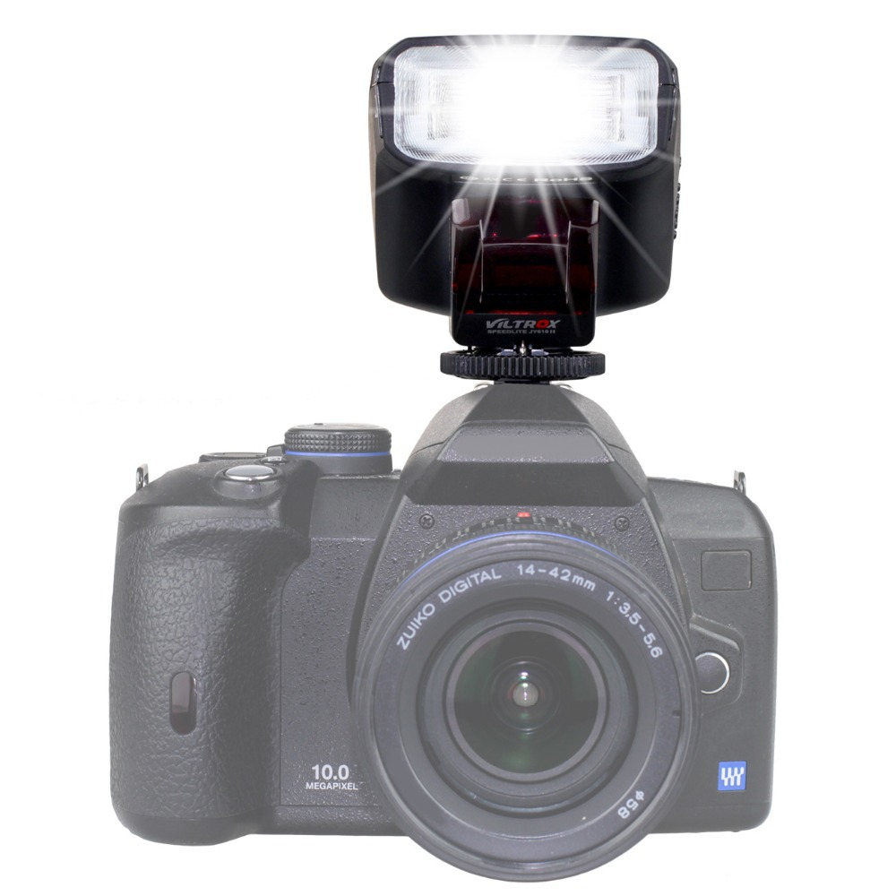 Viltrox JY 610 II накамерная Мини Вспышка JY610 II Вспышка для Nikon Canon Pentax Olympus Panasonic sony свадебная фотография