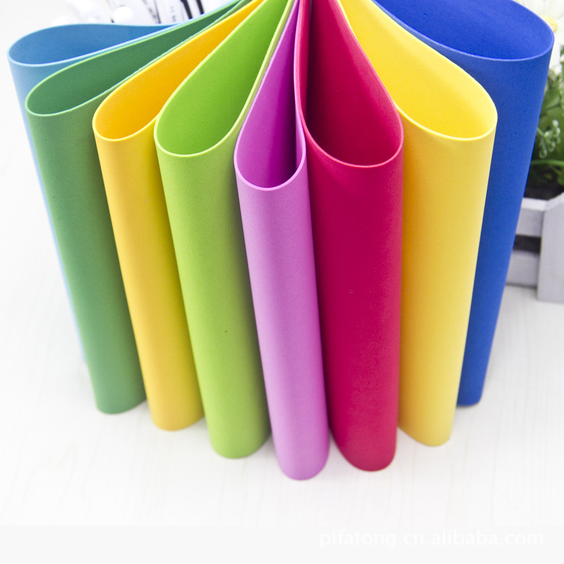 Buy 24pcs lot size 19 49cm 1mm eva foam for Craft ideas using foam sheets