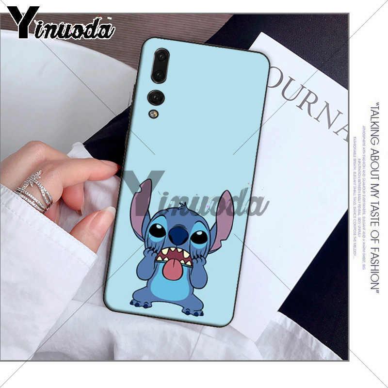 Yinuoda sevimli karikatür Lilo Dikiş Müşteri Yüksek telefon kılıfı için Huawei P10 artı 20 pro P20 lite mate9 10 lite honor 10 view10