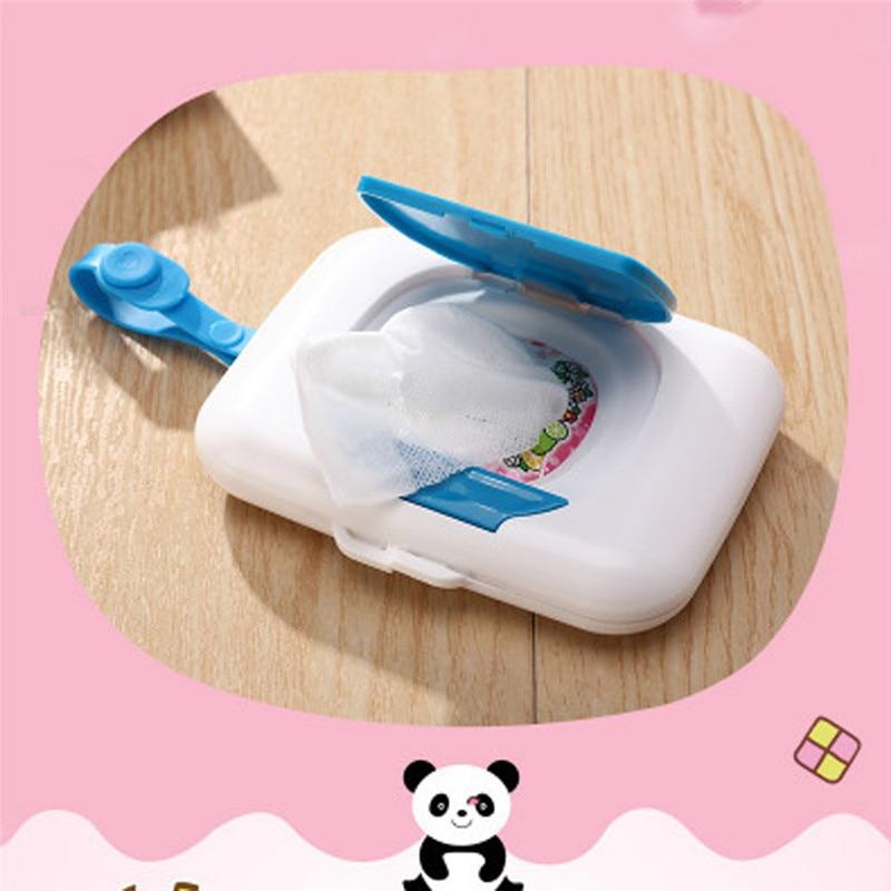 Saingace New Hot Baby Travel Wipe Case Child Wet Wipes