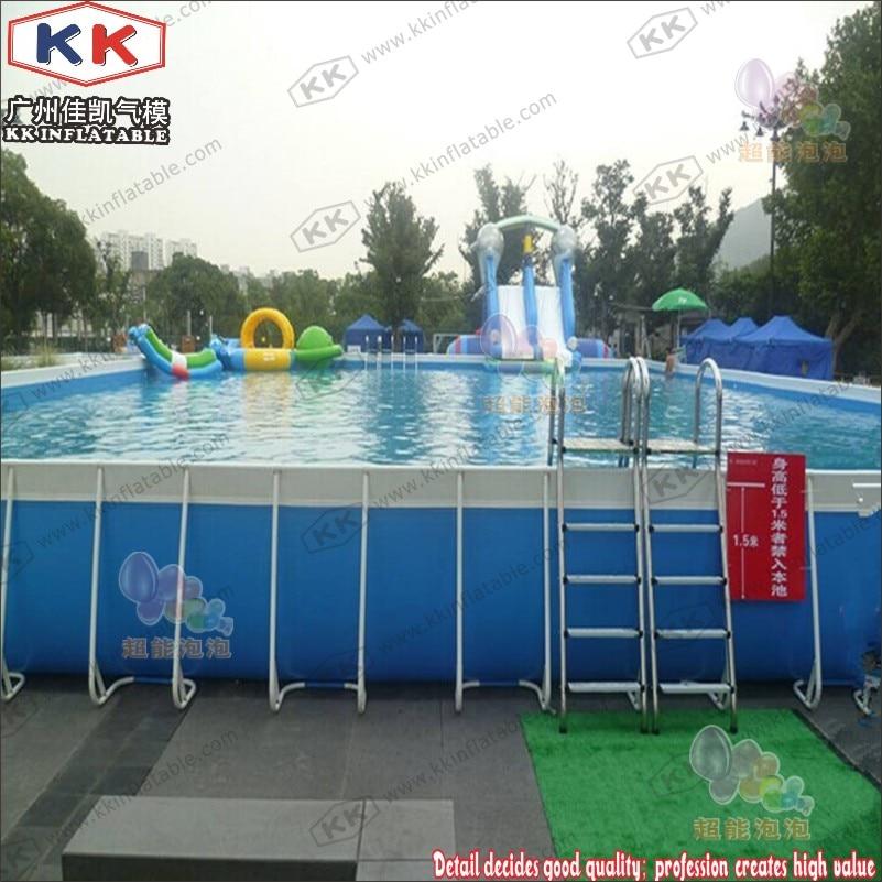 KK Backyard Above Ground Swimming Pool, Metal Frame Pool