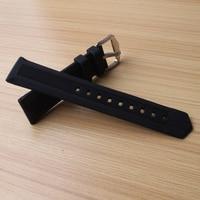14 мм 16 мм 18 мм 19 мм 20 мм 22 мм 24 мм силиконовой резины ремешок для часов Ремешок для спортивные часы Мужчины Женщины браслет черный продвижение