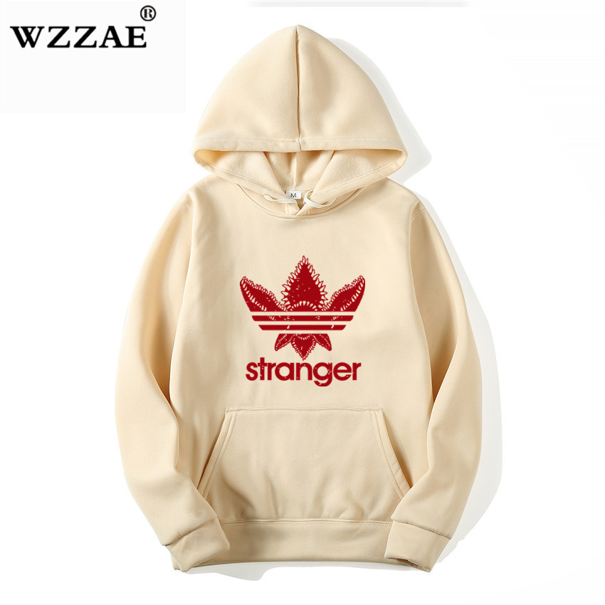 18 Brand New Fashion Stranger Things Cap Clothing Hooded Sweatshirt hoodies Men/Women Hip Hop Hoodies Plus Size Streetwear 2