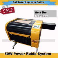 CO2 Laser Engraver Ruida 6442 System 4060 50W (60w/80w/90w) 6040 Laser Cutting Machine with DSP System Free Shipping