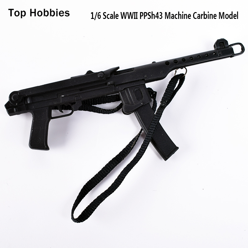 1/6 Soldier Model Parts Veyron DML World War II PPS-43 Rifle Gun Weapon Toys Model Fit 12Soldier Action Figure Accessories world war 1
