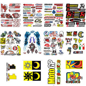 Motorcycle Sticker For Yamaha Kawasaki Honda BMW Luggage