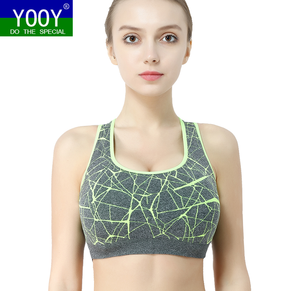 c333233f34 YOOY New Women Shockproof Sports Bra