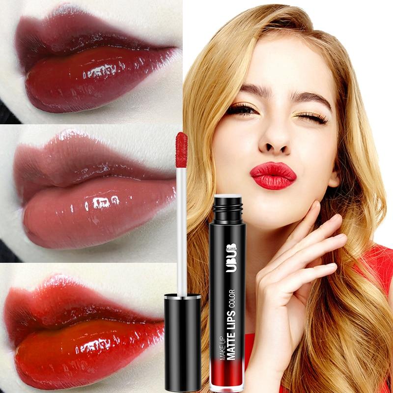 1 Pcs Lip Glaze Lipstick Long Lasting Moisturizing Fashion for Women Lady Student WH998 1