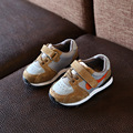 2017 primavera nueva costura malla luz moda niñas zapatillas de bebé toddler shoes mocasines niños niñas shoes21-25