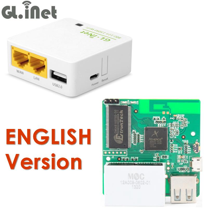 Prix pour GL. iNet 6416A 150 Mbps Mini WiFi Routeur Atheros AR9331 WiFi Extender Répéteur de Signal Avec USB Port OPENWRT Pré-installé