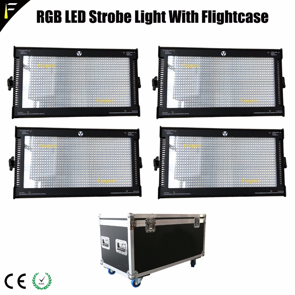 RGB 3in1 LED Flash Strobe Stroboscope Continuous Light Hybird As Floodlight For Stages Clubs Mobile Discos Bars Etc