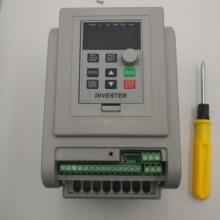 VFD инвертор 1.5KW/2.2KW/4KW/5.5KW преобразователь частоты AT1 3 P-220 V выход ЧПУ шпиндель управления скоростью двигателя VFD конвертер