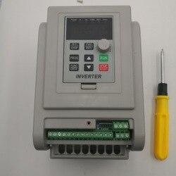 VFD العاكس 1.5KW/2.2KW/4KW/5.5KW محول تردد AT1 3 P-220 فولت الناتج نك المغزل المحرك التحكم في سرعة VFD محول