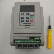 VFD 인버터 1.5KW/2.2KW/4KW/5.5KW 주파수 변환기 AT1 3P 220V 출력 CNC 스핀들 모터 속도 제어 VFD 변환기