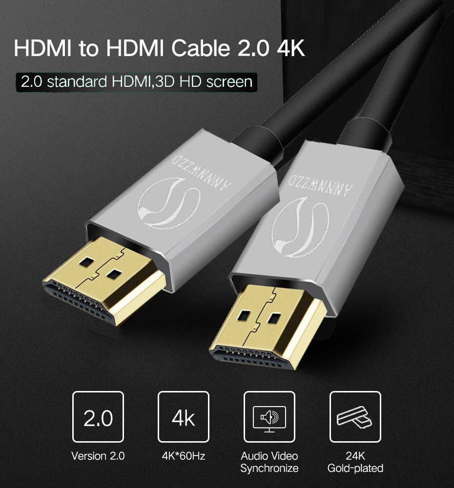 イーサネットと HDMI ケーブル V2.0 1 メートル 2 メートル 3 メートル 5 メートル 10 メートルの HDMI 4 18k * 2 18k 1080 1080p hd テレビの/Xbox 360/PS3