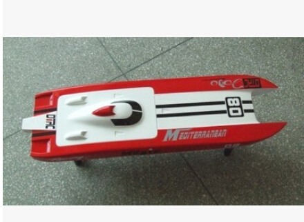 DTRC E32 Cheetah Brushless RC Boat/Catamaran/Cat Boat with Motor 3674 1860KV/ 120A ESC/ 3KG Servo h625 pnp spike fiber glass electric racing speed boat deep vee rc boat w 3350kv brushless motor 90a esc servo green