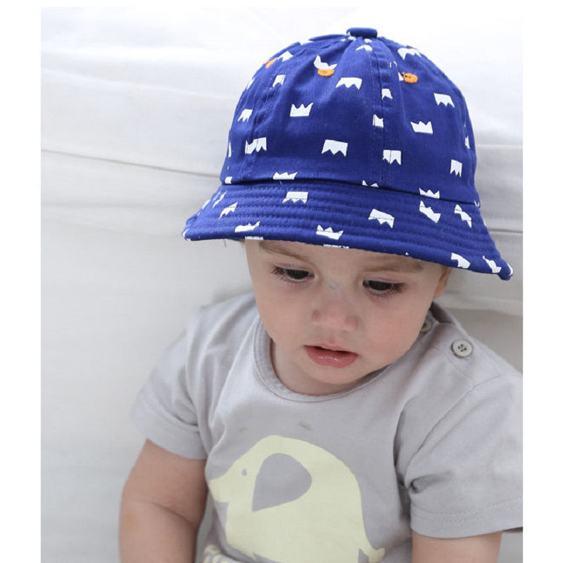 Baby Boy Bucket Hat Panama Girls Sun Hat With Brim Kids Cotton Summer Hat Child Beach Hat Baby Crown Sunhat Infant Kids Sun Cap Boys' Baby Clothing