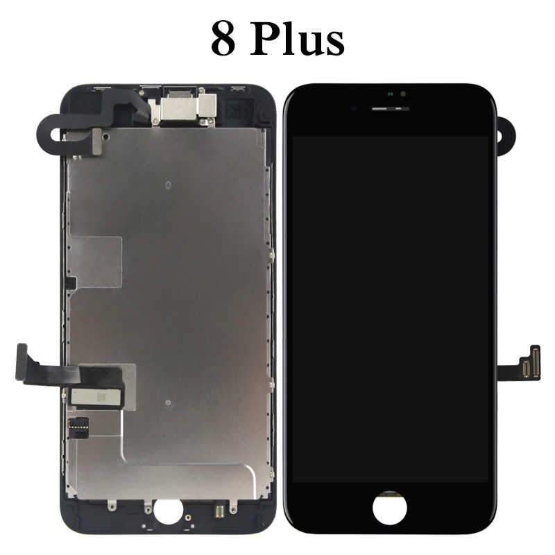 best website 17b41 d9a3f Phone Display Repair Replacement For iPhone 7 7P 8 8P LCD Touch Screen +  Front Camera No Home Button With Parts Full Assembly