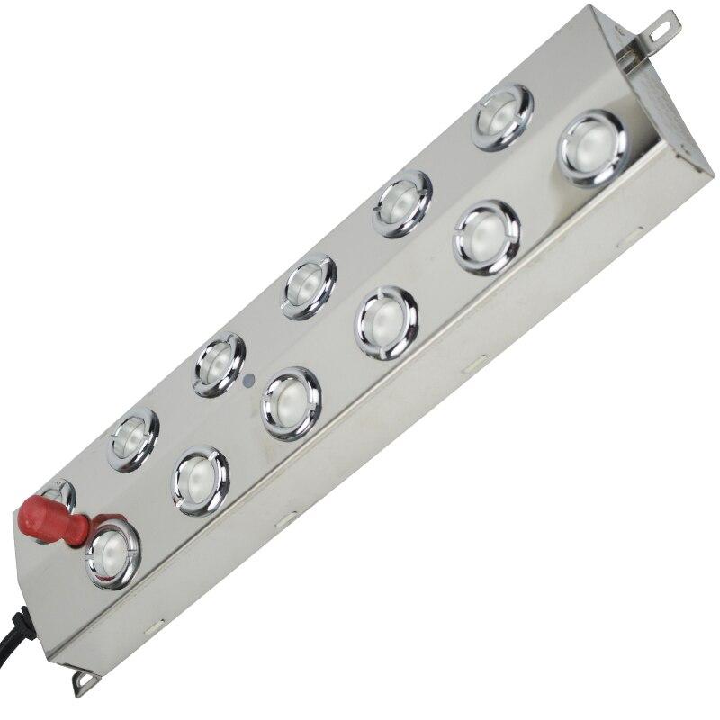 Haute Qualité 12 Tête 6000 ml/h De Brumisateur à Ultrasons Humidificateur D'air Atomiseur Diffuseur Nébuliseur Nettoyeur Vaporisateur
