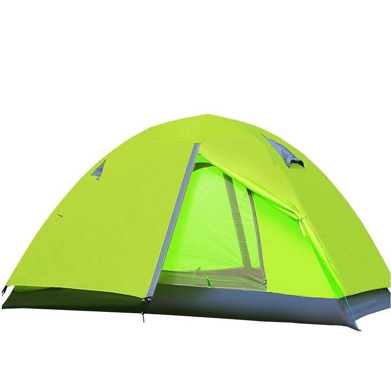 Extérieur quatre saisons imperméable Camping tente Camping Double personne Gazebo tente de pêche plage tente auvents abri soleil ombre