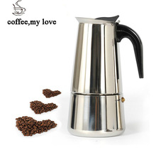 Bialetti, 300 ML kaffeekanne Inoxpran lieferant Heißer Verkauf 6cup hochwertige Moka kaffeemaschine, Express kaffee topf