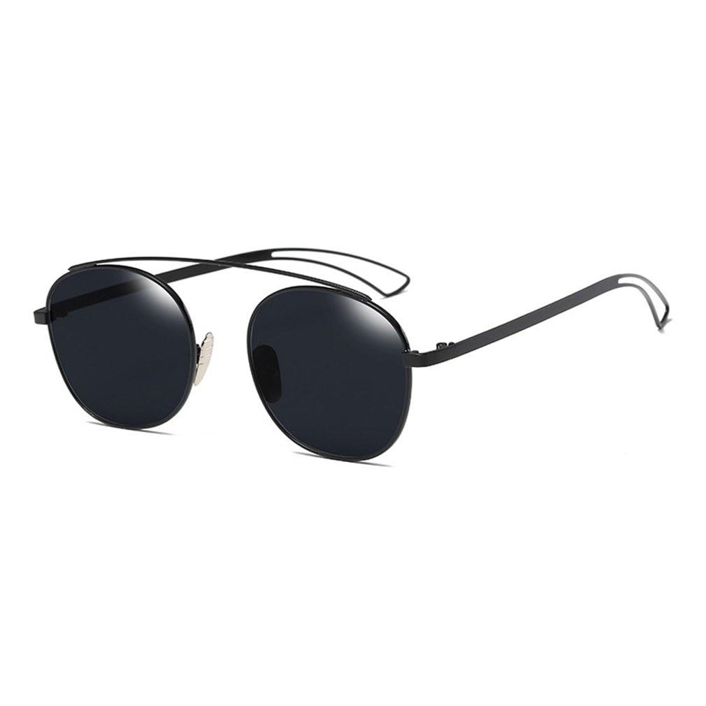 New Brand Designer Vintage round Sunglasses Women Men Metal Frame Sunglasses Color Film Sun Glasses Unisex Eyewear oculos de sol 5