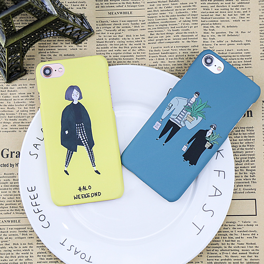 Leon The Professional Case For iphone 8 7 6 6S PLus Case Cartoon Hard Matte PC Cover Movie Pattern Mathilda Phone Cases Shell ...