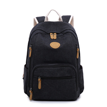 Canvas Backpack 2019 New Female Korean Version Of The Tide Bag Travel Hot