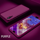 ZNP 360 Degree Full Cover Case For Huawei P20 Mate 10 Lite Pro Case With Tempered Glass Phone Cover For Huawei Nova 3E Case