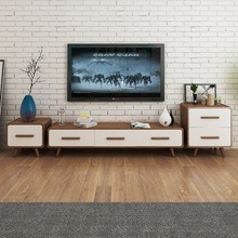 ТВ стойки Гостиная мебель для дома твердая дубовая деревянная стенка для телевизора ТВ столовый сервиз сопorte монитор Стенд muebles Мадера