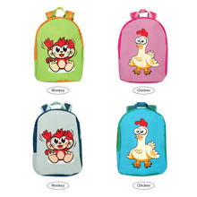 Backpack Kids Nylon Cartoon Bags Mini Kindergarten schoolbag Animal Children School Girls Boys