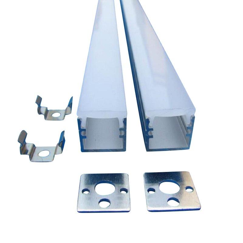 10pcs x 2m Led Aluminium Profile Alloy Channel for 8mm LED Strip/String Light SDW1212-in LED Bar Lights from Lights & Lighting    1