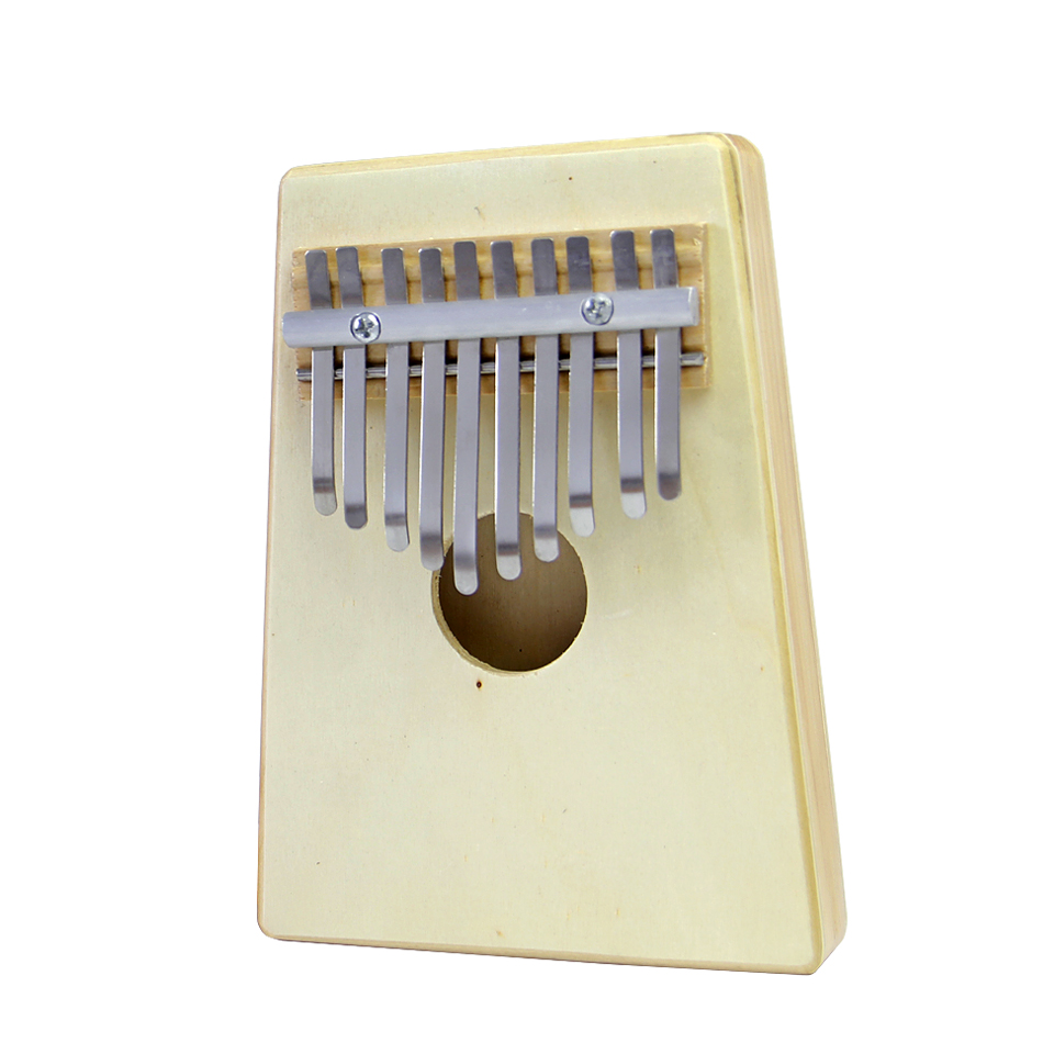 10 Key Kalimba African Thumb Piano Finger Percussion Keyboard Music Instruments 30 note xylophone piano fleet foldable glockenspiel vibraphone new music knock e piano percussion instrument and paino bag