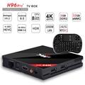 H96 Pro + Amlogic S912 Octa Core Android 6.0 TV Box 3G/32G 2.4g/5 ghz wifi bluetooth lan gigabit 4 k dlna google play set top caja