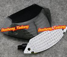 Motocicleta integrado de luz trasera de señal de vuelta para Honda CB600 HORNET CB900 599 919 2002-2007, humo, repuestos