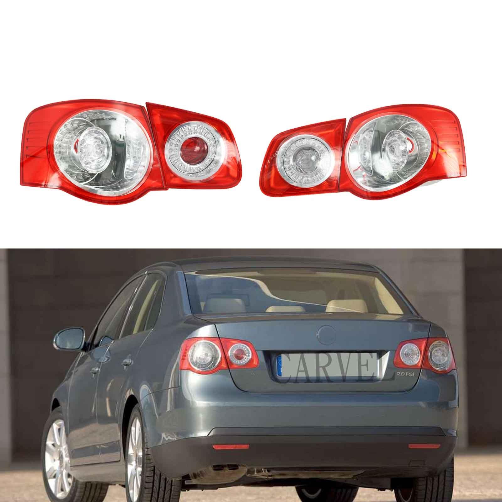 Car Led Light For VW Jetta V 5 2005 2006 2007 2008 2009 2010 2011 New LED Rear Tail Light Lamp
