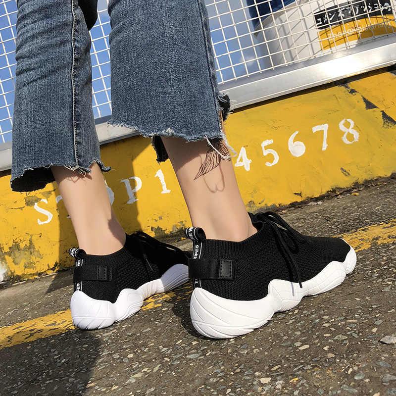 YALNN נשים נעלי סניקרס לנשים נעלי ריצה אישה סניקרס 2019 כבוי לבן נעליים גבוהה סופר רדוד נשים אופנה סניקרס