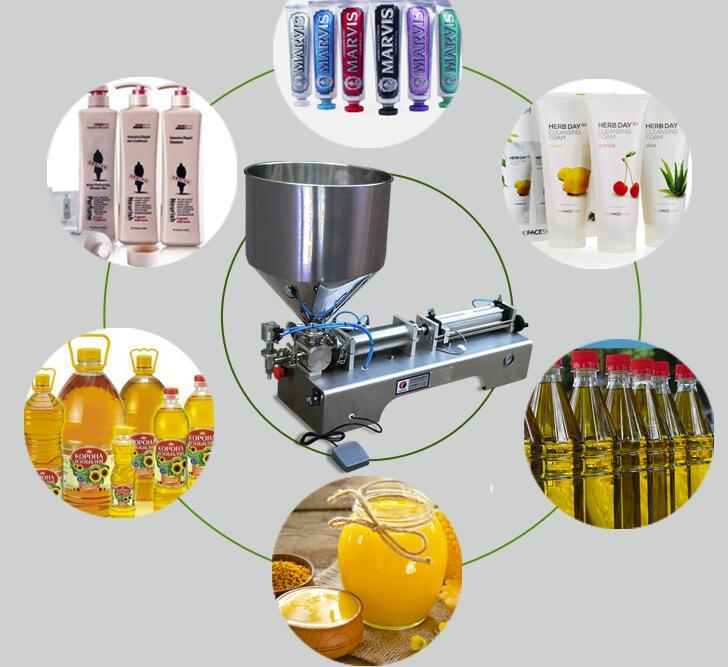 cosmetic filling machine 12