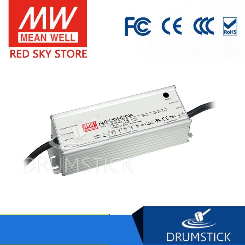 MEAN WELL HLG-120H-C350A 215 ~ 430V 350mA meanwell HLG-120H-C 150.5W LED Driver Power Supply A Type 10pcs rjp4301app rjp4301 to 220f 430v