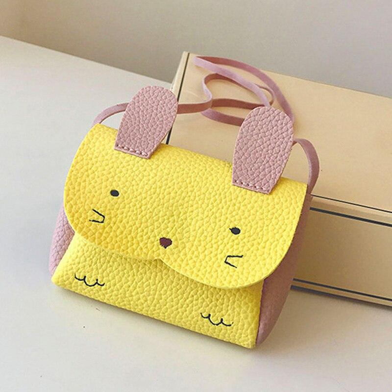 Erfinderisch Kinder Kinder Mädchen Schulter Crossbody-tasche Pu Leder Kaninchen Mini Für Münze Geld Lt88