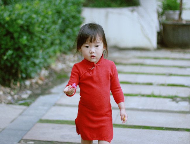 Baby Girls брендіне арналған Cheongsam жемпірі - Балалар киімі - фото 5