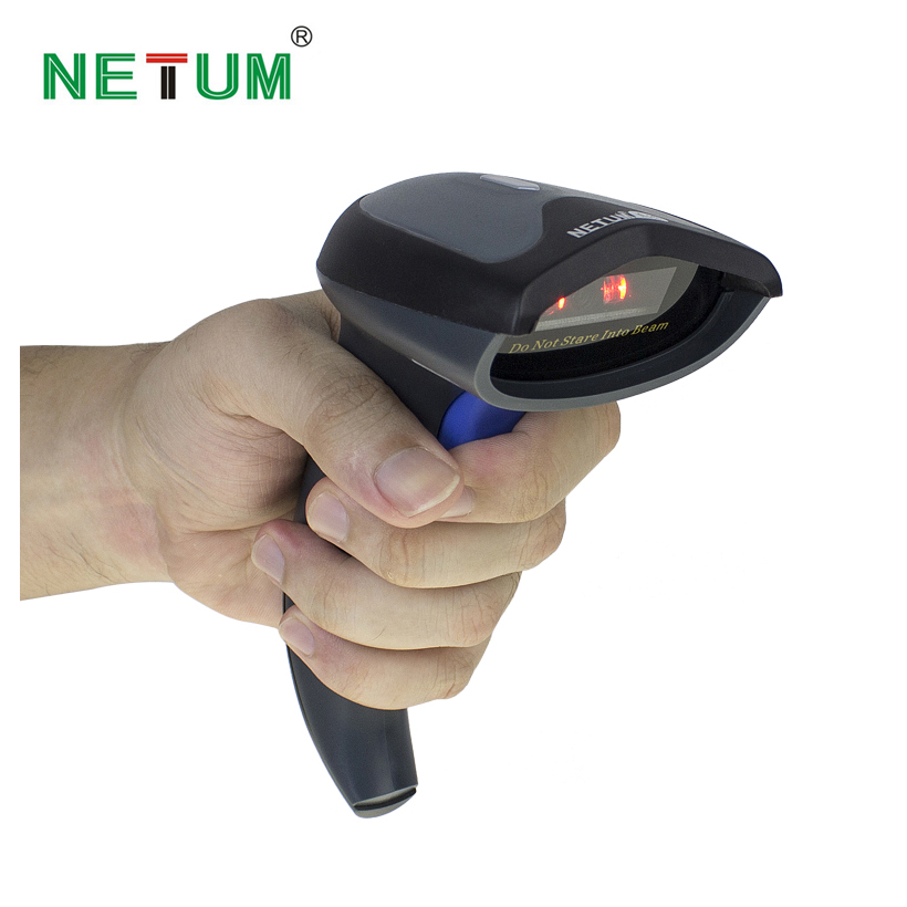 NETUM NT W6 2 4G Wireless Barcode Reader Handheld NETUM W6 Reader CCD Work with Android
